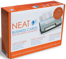 Neat business card scanner manifest tech blog the neat business cards scanner is only about 4 14 x 2 x 1 inches and 11 pounds and comes with a hard shell case for travel with room for the standard colourmoves