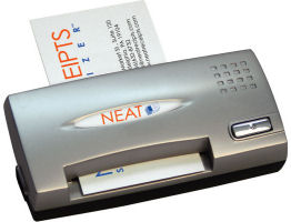 Neat business card scanner manifest tech blog and the new neatreceipts neat business cards scanner is even more attractive at 199 it scans directly into outlook and act and its small enough to colourmoves