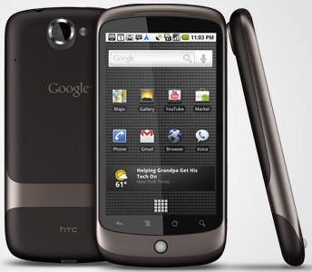 Portable communications gallery google htc nexus one android smartphone 37 12010 fandeluxe Choice Image