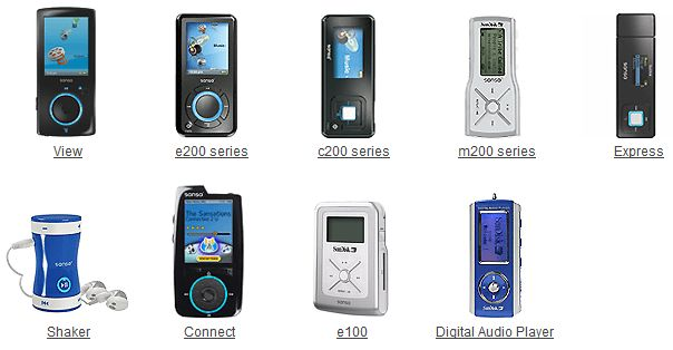 Portable Media Player Gallery - 2000s