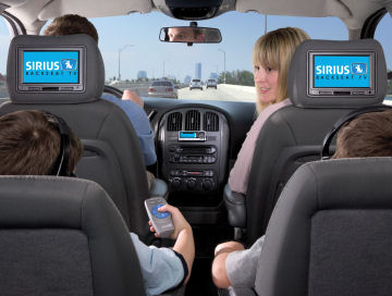 Sirius Backseat TV SCV1 Aftermarket Product