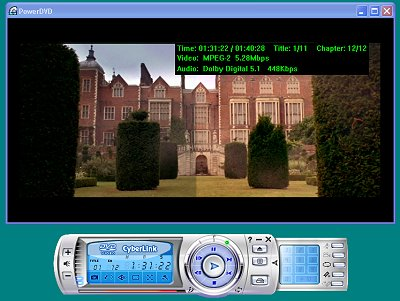 cyberlink power dvd player free download for windows xp