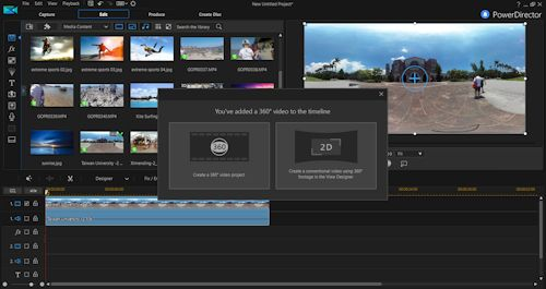 CyberLink Director Suite 6 Goes All-In on 360 Video (Manifest Tech Blog)