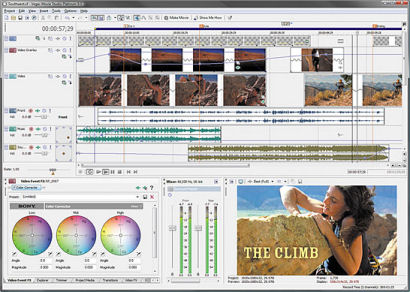 Sony Vegas Movie Studio 9.0
