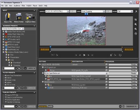 أقوى برنامج لضغط الفيديو بجودة عالية Sorenson Squeeze 7.0.0