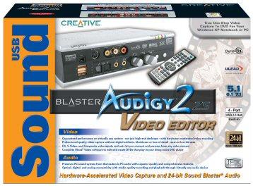 Скачать sound blaster audigy 2 for windows 7