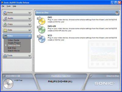 sonic mydvd