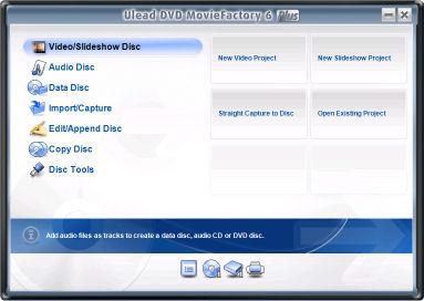 corel dvd moviefactory 6