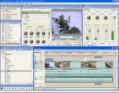 how to use the audio track mixer in premiere