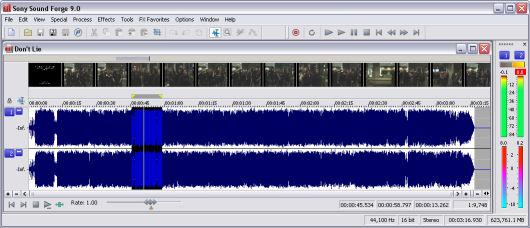 sony sound forge 9.0